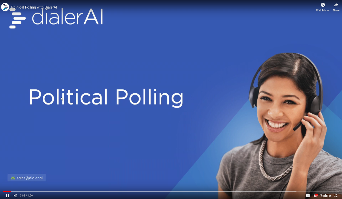 Political dialer software
