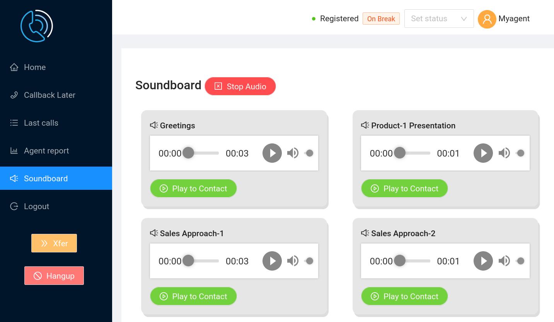 Agent Soundboard